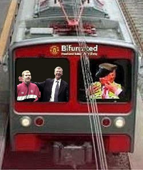 Bi-Rail-Train  Fergie and Scholesy